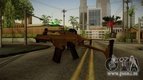 HK G36C v4 pour GTA San Andreas troisième écran