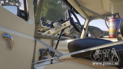 GTA 5 Ftruck Mercedes L Series v2 arrière droit vue de côté