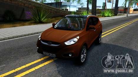 Hyundai ix35 Aze pour GTA San Andreas