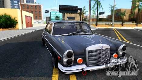 Mercedes-Benz 300SEL 6.3 für GTA San Andreas rechten Ansicht
