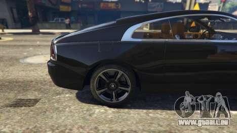 Rolls-Royce Wraith 2015 pour GTA 5