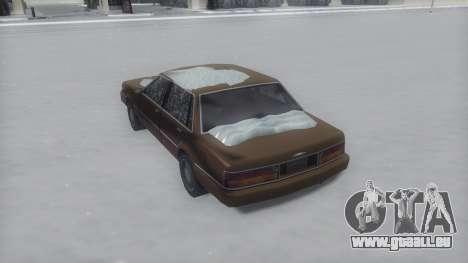 Primo Winter IVF pour GTA San Andreas laissé vue