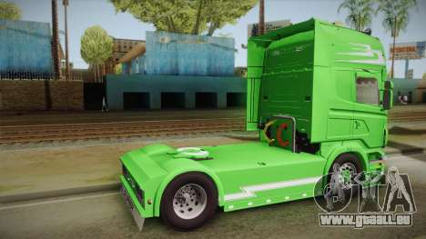 Scania Old School pour GTA San Andreas laissé vue