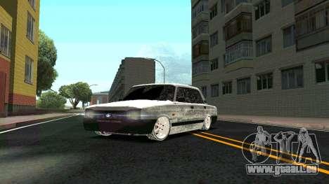 2107 Classique 2 Winter edition pour GTA San Andreas vue de côté