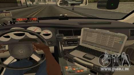 Dodge Charger County Sheriff pour GTA San Andreas vue de côté