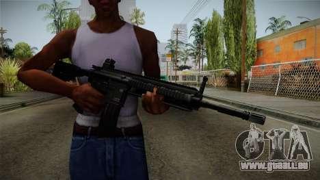 HK416 v1 pour GTA San Andreas troisième écran