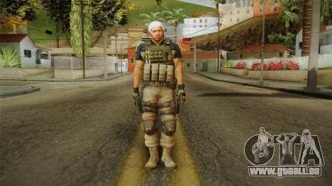 Resident Evil 6 - Chris Asia Bsaa pour GTA San Andreas deuxième écran