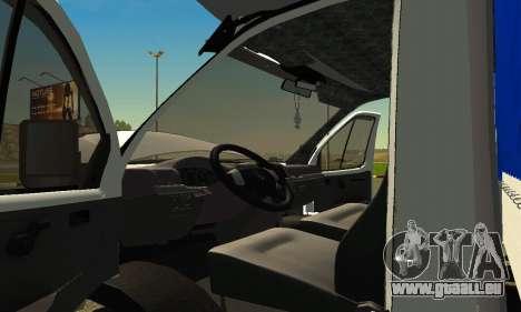 Gazelle 3302 pour GTA San Andreas vue de droite