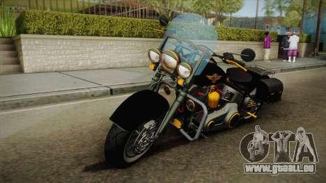 Harley-Davidson Fat Boy Lo Vintage 1992 v1.1 pour GTA San Andreas