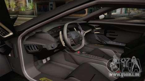 Ford GT 2017 Heritage Edition pour GTA San Andreas vue arrière