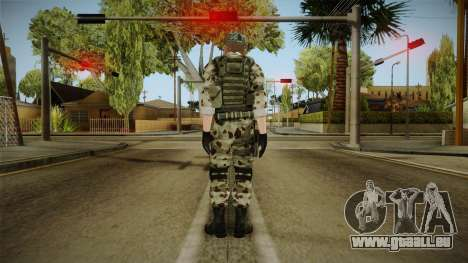 Resident Evil ORC Spec Ops v4 für GTA San Andreas dritten Screenshot