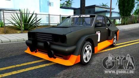 Rally Club pour GTA San Andreas