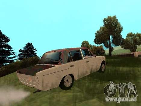 VAZ 2101 (06) Garage 54 pour GTA San Andreas laissé vue