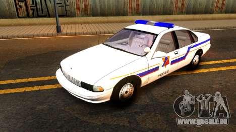 Chevy Caprice Hometown Police 1996 für GTA San Andreas