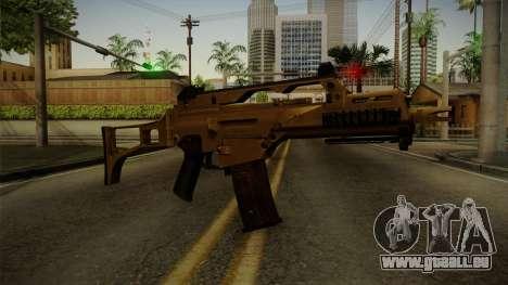 HK G36C v4 pour GTA San Andreas deuxième écran