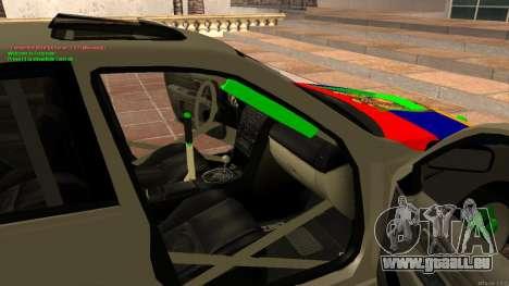 Toyota Altezza Armenian für GTA San Andreas Innenansicht
