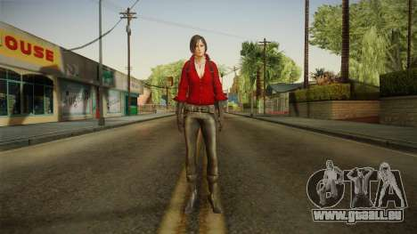 Resident Evil 6 - Ada pour GTA San Andreas deuxième écran
