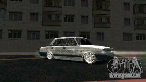 2107 Classique 2 Winter edition pour GTA San Andreas vue arrière