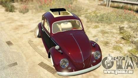 GTA 5 Volkswagen Beetle Rückansicht