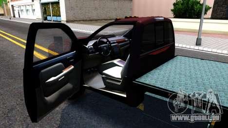 Chevrolet HD 3500 2013 für GTA San Andreas Rückansicht