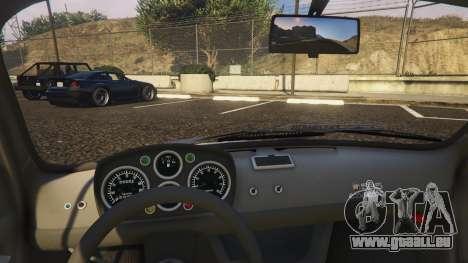GTA 5 Fiat Abarth 595ss Racing ver droite vue latérale