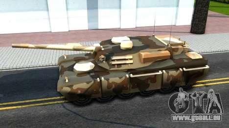 Rhino GTA V pour GTA San Andreas vue de droite