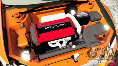 GTA 5 Mitsubishi Lancer Evolution IX Stormtrooper [r] rechte Seitenansicht