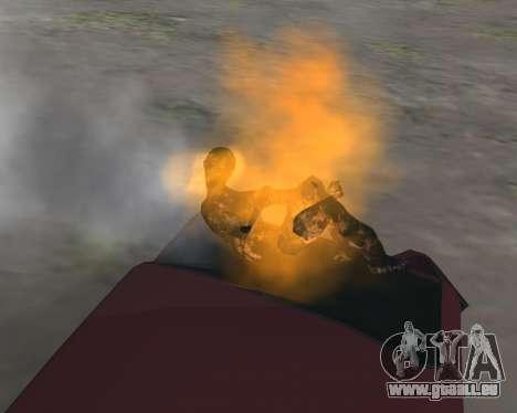 Pour transporter le cadavre de 2016 pour GTA San Andreas deuxième écran