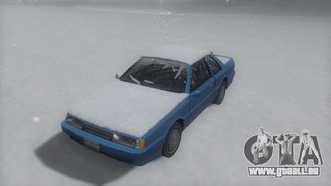 Previon Winter IVF pour GTA San Andreas