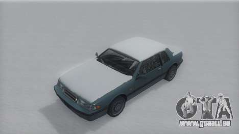 Bravura Winter IVF pour GTA San Andreas vue de droite