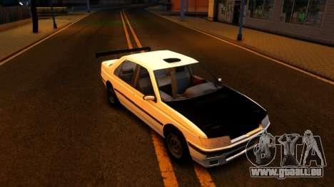 Peugeot 605 pour GTA San Andreas laissé vue