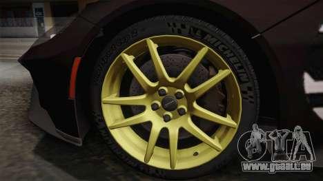 Ford GT 2017 Heritage Edition pour GTA San Andreas sur la vue arrière gauche