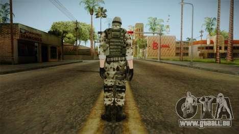 Resident Evil ORC Spec Ops v2 für GTA San Andreas dritten Screenshot
