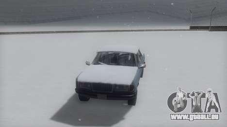Admiral Winter IVF pour GTA San Andreas laissé vue