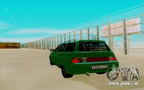VAZ 2111 für GTA San Andreas linke Ansicht