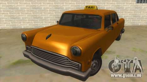 VC Cabbie Xbox für GTA San Andreas