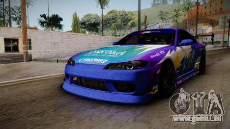 Nissan Silvia S15 BN-Sports für GTA San Andreas rechten Ansicht