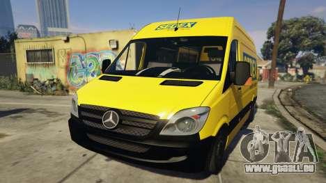 CORREIOS Sedex Mercedes Sprinter pour GTA 5