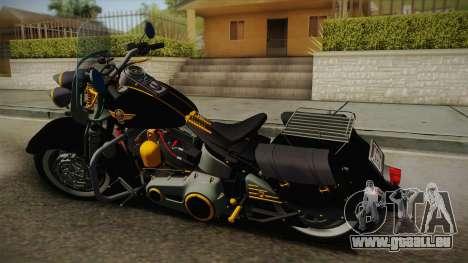 Harley-Davidson Fat Boy Lo Vintage 1992 v1.1 pour GTA San Andreas laissé vue