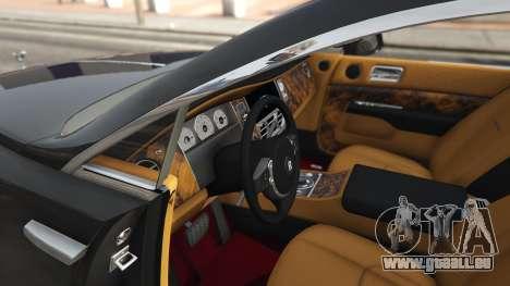 GTA 5 Rolls-Royce Wraith 2015 rechte Seitenansicht