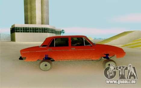 Phoenix ВАЗ 2106 pour GTA San Andreas laissé vue