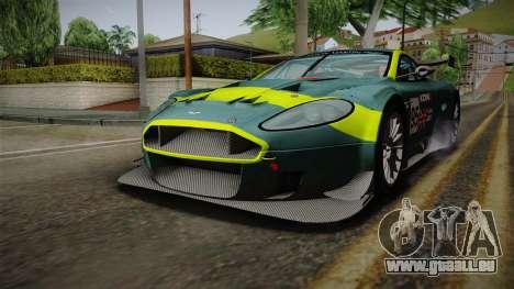 Aston Martin Racing DBRS9 GT3 2006 v1.0.6 Dirt für GTA San Andreas Räder