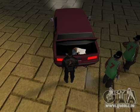 Pour transporter le cadavre de 2016 pour GTA San Andreas dixième écran