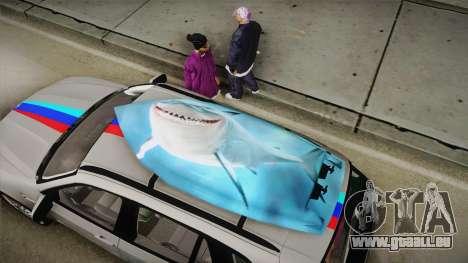 BMW X5M 2012 Special pour GTA San Andreas vue intérieure