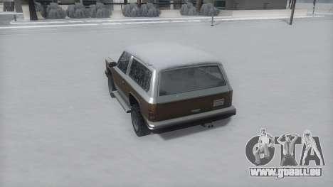 Rancher Winter IVF pour GTA San Andreas vue de droite