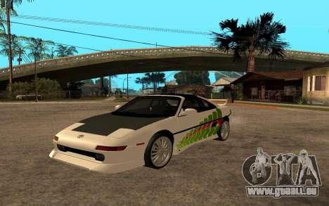 Toyota MR2 GT für GTA San Andreas Rückansicht