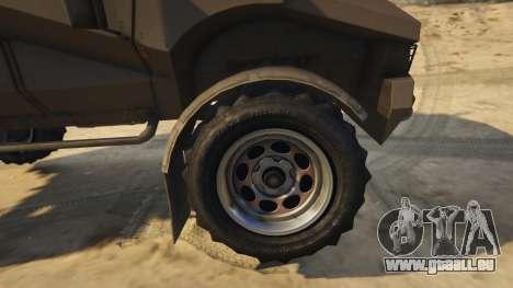 GTA 5 Punisher Khaki Armed Version rechte Seitenansicht
