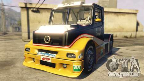 Ftruck Mercedes L Series v2 pour GTA 5