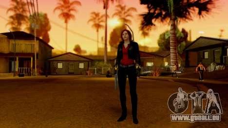 Resident Evil Revelations 2 - Claire Biker pour GTA San Andreas troisième écran