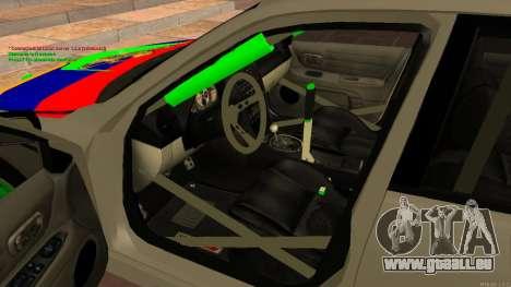 Toyota Altezza Armenian für GTA San Andreas rechten Ansicht